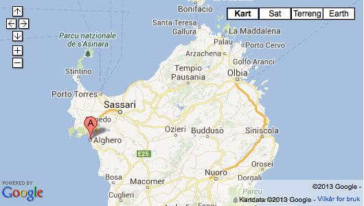 kart over sardinia Under The Italian Sun | Forside kart over sardinia